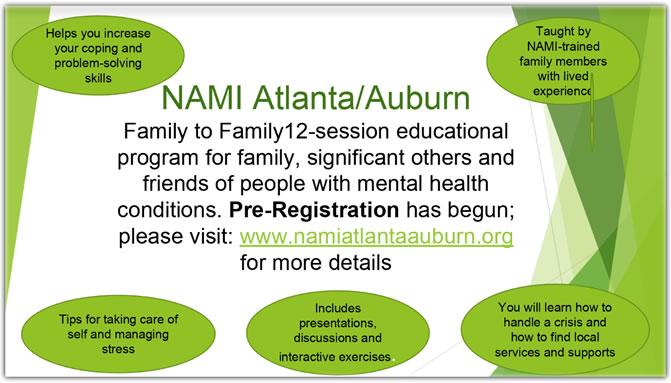 NAMI Family to Family Education