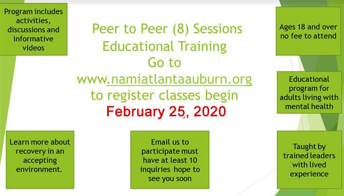 NAMI Peer Peer Education